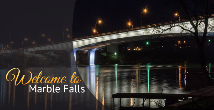 Welcome to Marble Falls (Photo by Al Williams)