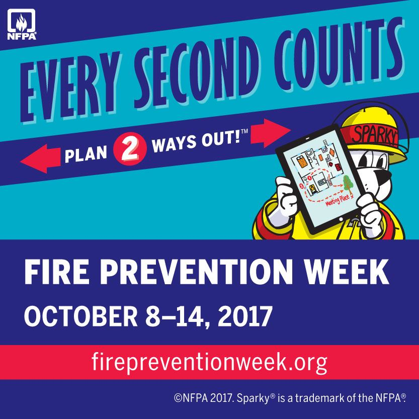Fire Prevention Week 2017
