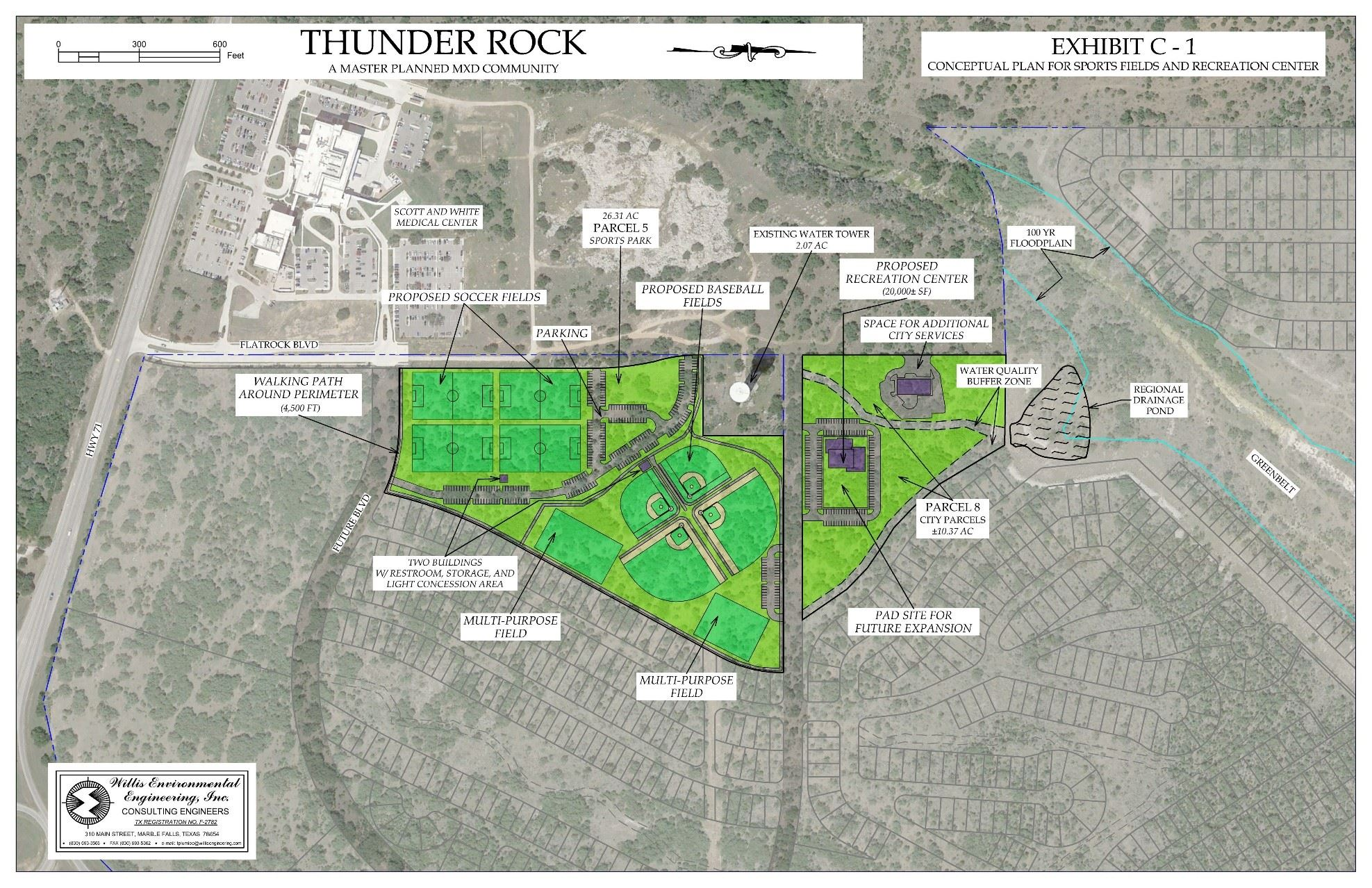Thunder Rock Sports Complex