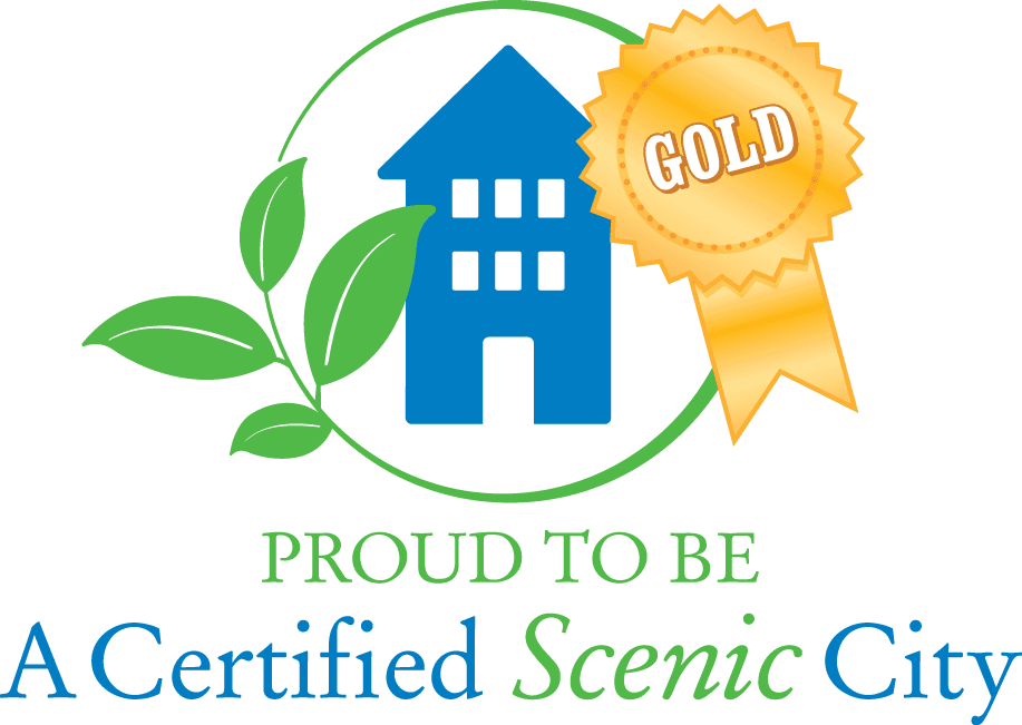 Proud to be a Gold Certified Scenic City Gold Logo
