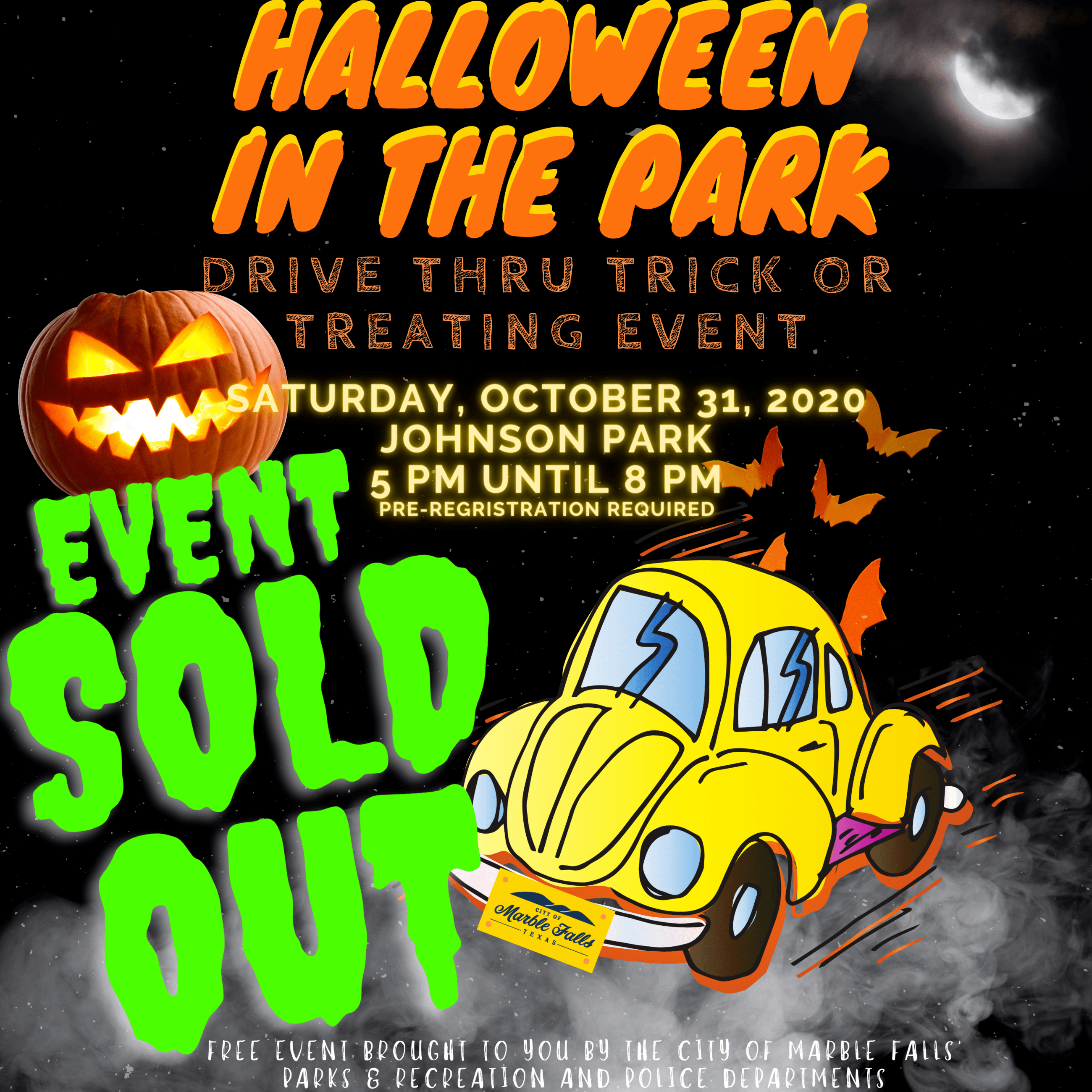 SOLD OUT - IG Version - Halloween in the Park 2020