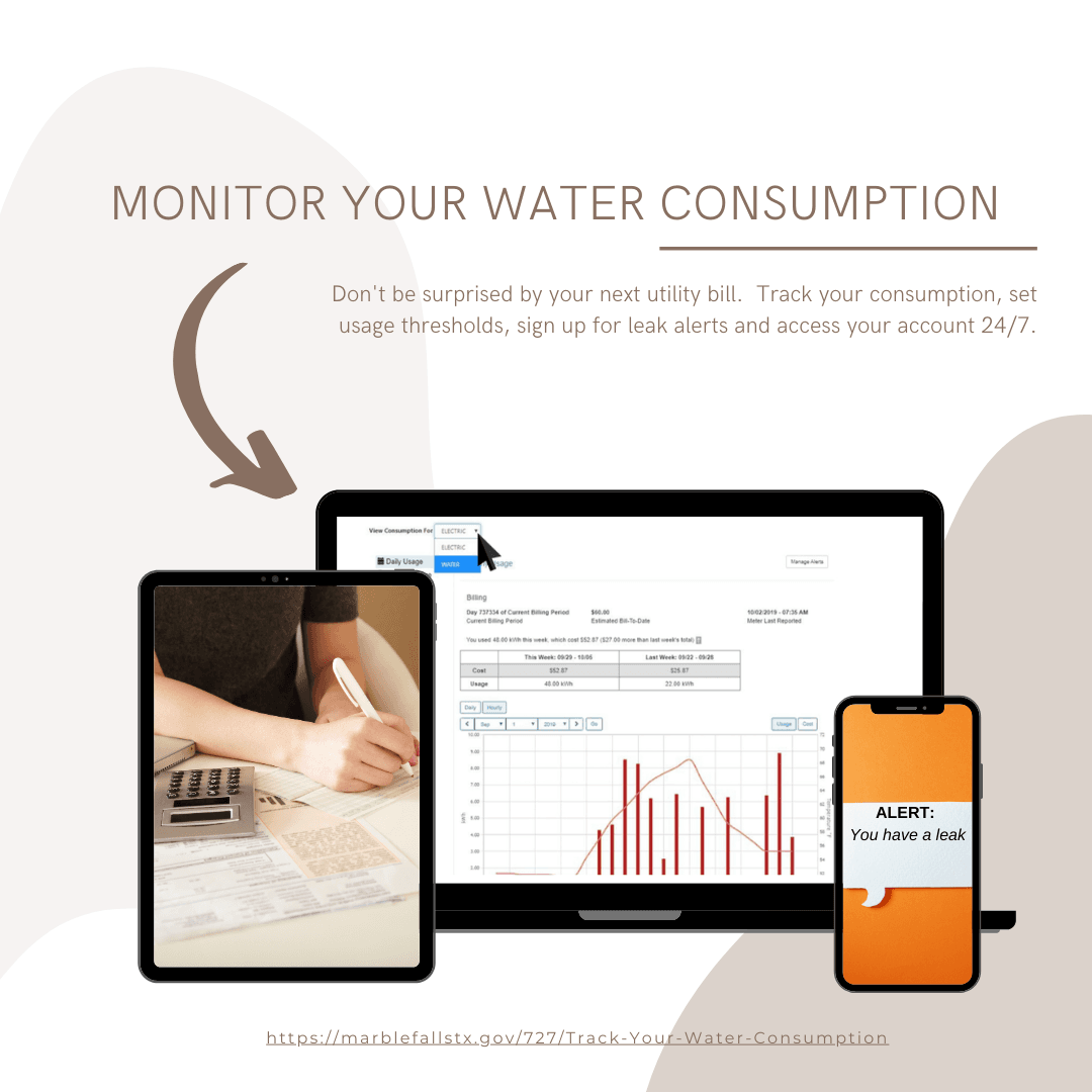 monitor your water Consumption  2