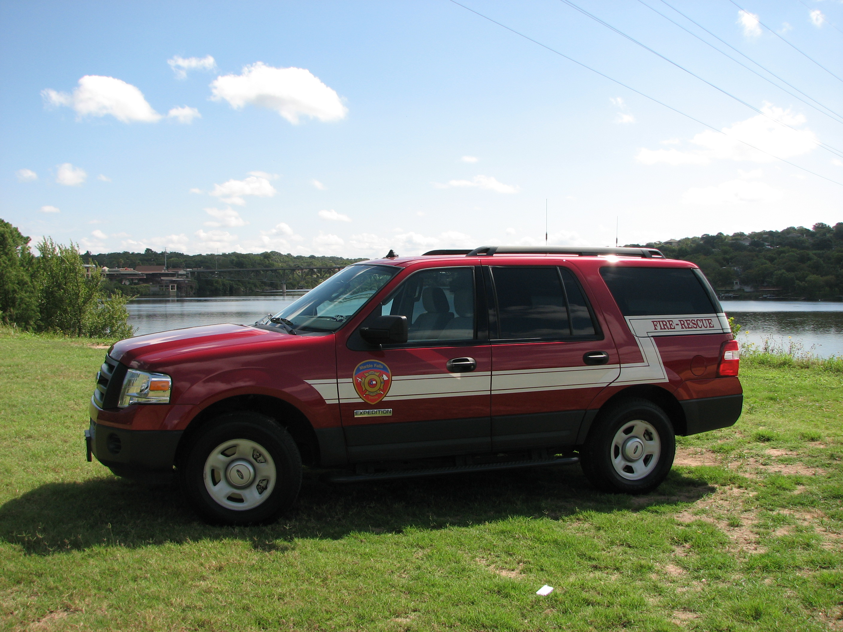 Fire Marshal One, a 2006 Ford Expedition