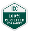 ICC 100% Certified Badge