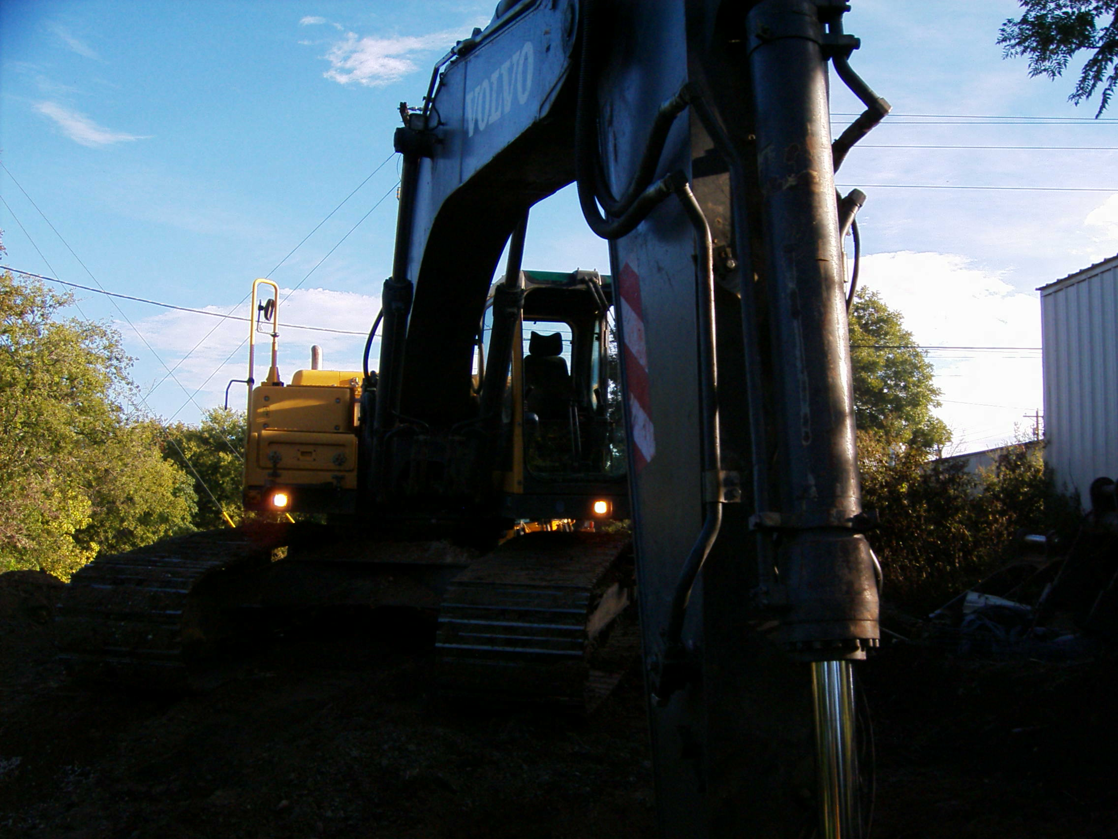 Volvo Equipment at work site